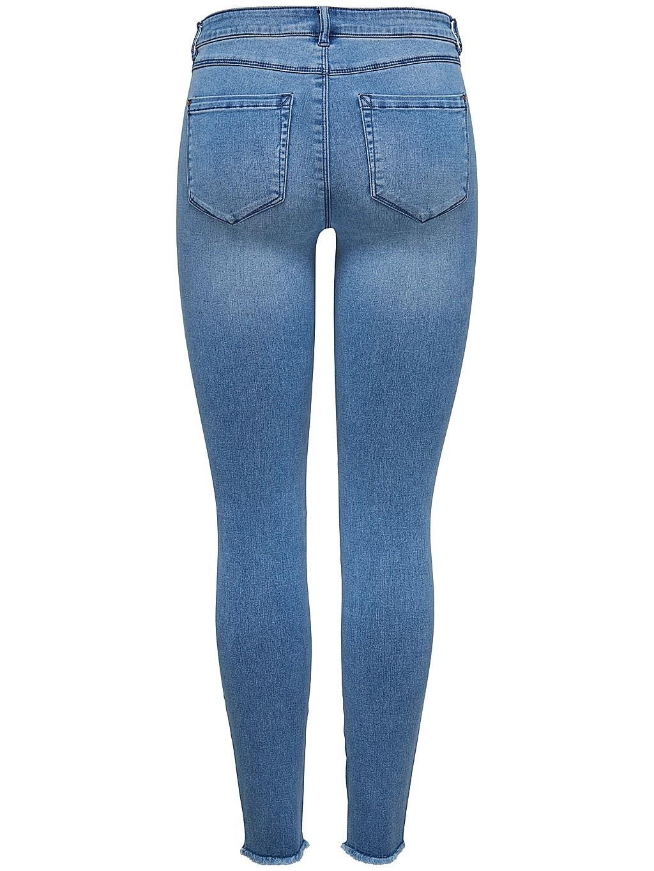 Only Damen Jeans onlROYAL REG SK ANK JEANS BJ11505 - Skinny Fit - Blau - Medium Blue