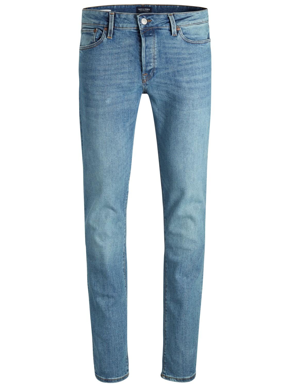 9bfda4c27a688f Jack   Jones Herren Jeans JJITIM JJICON AM 669 Slim Fit - Blau - Blue Denim
