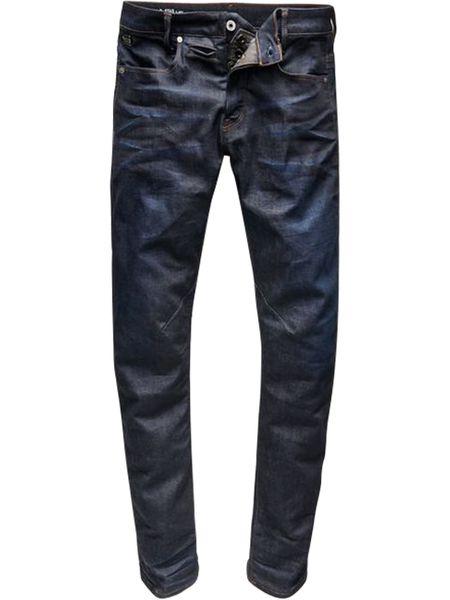 G-Star Herren Jeans D-Staq 5-Pocket - Slim Fit  - Blau - Dark Aged