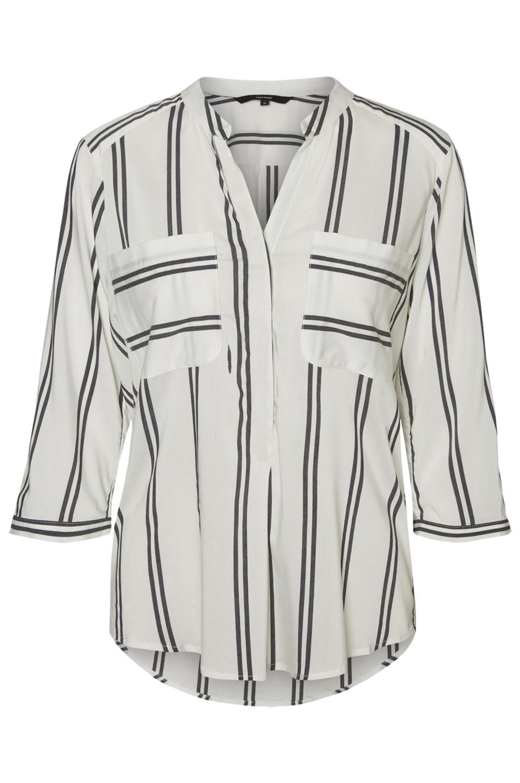 vero-moda-damen-top-vmerika-double-stripe-3-4-shirt