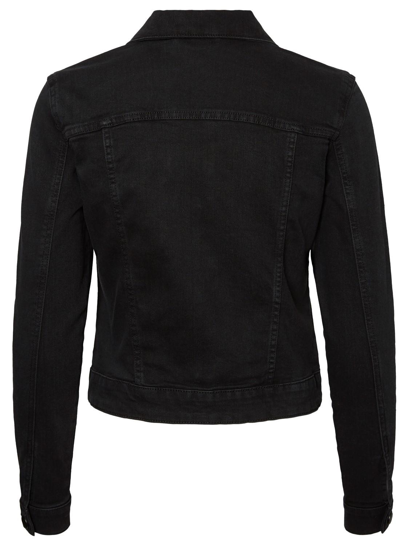 noisy-may-damen-jeansjacke-nmdebra-l-s-black-wash-denim-jacket