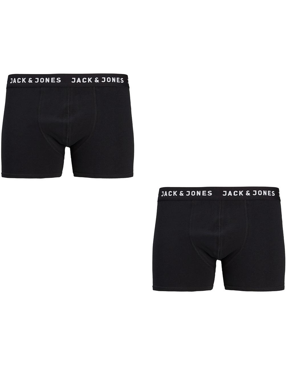 Jack /& Jones Herren Boxershort JACRICH TRUNKS 2er Pack S M L XL XXL  Baumwolle
