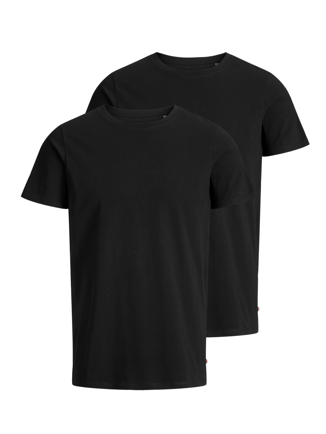 Jack & Jones Herren T-Shirt JJEPLAIN TEE SS O-NECK - 2er Pack
