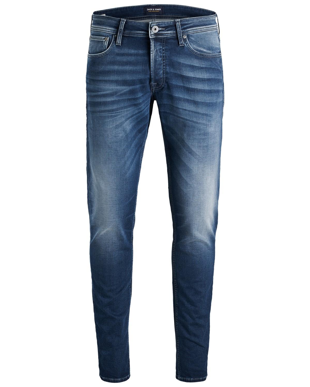 cbe73b52b42e32 Jack   Jones Herren Jeans JJIGLENN JJORIGINAL JOS 891 INDIGO KNIT - Slim  Fit - Blau