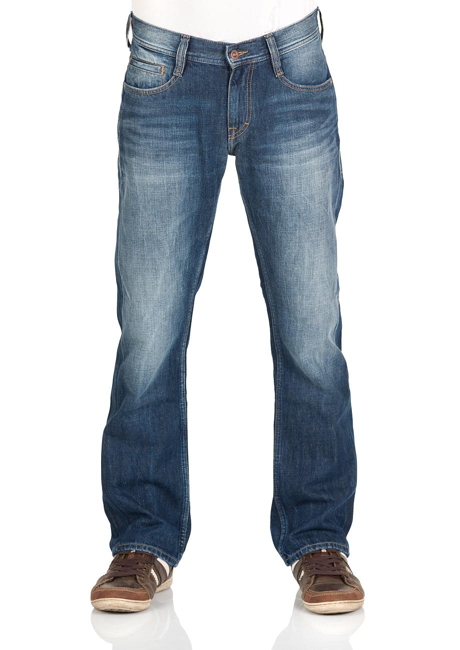 Mustang Herren Jeans Oregon Straight - Blau - Blue Denim kaufen ... 6b5ba3a7d2