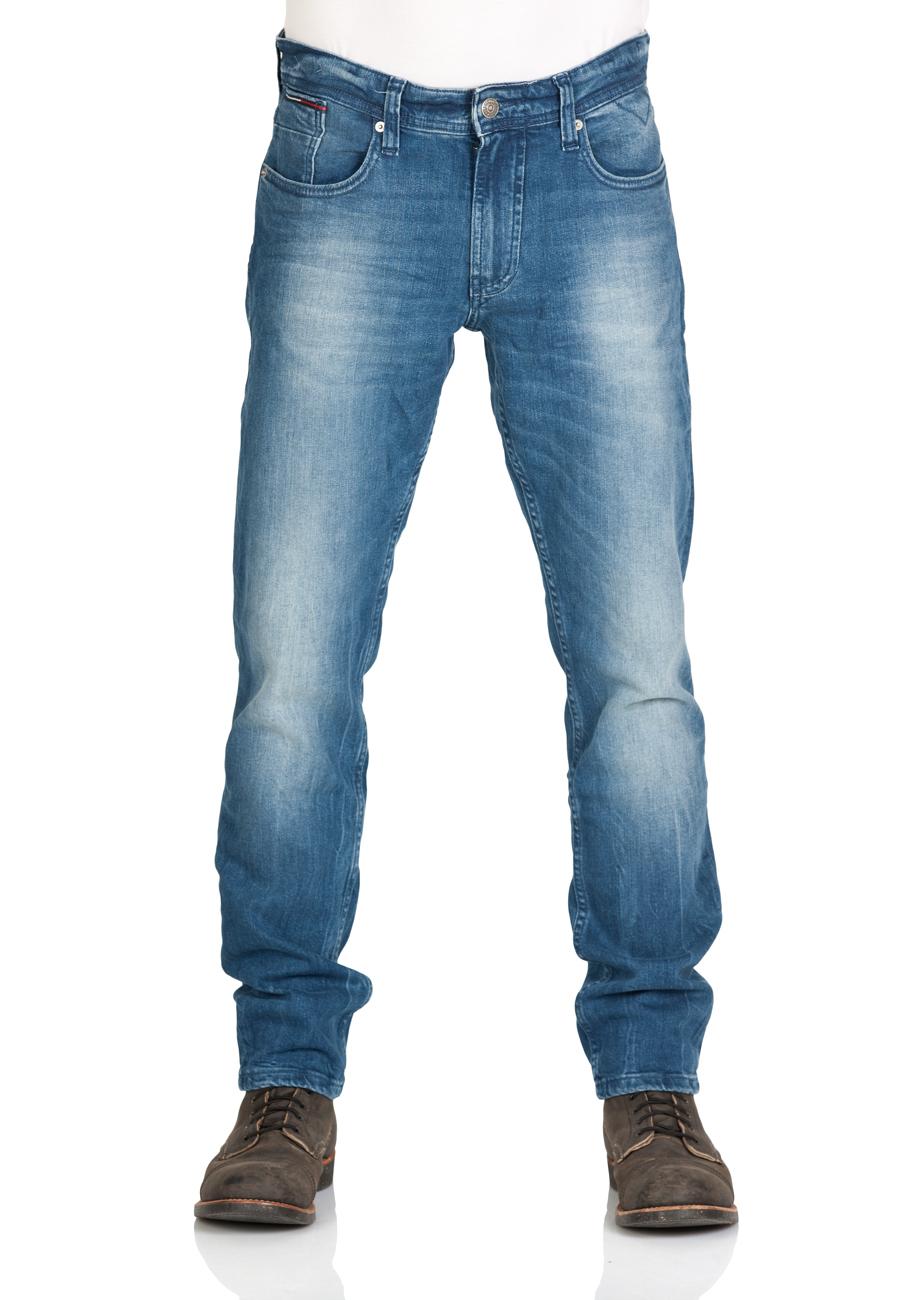 5dd5052b189 Tommy Hilfiger Herren Jeans Original Tapered Ronnie Bemb - Tapered Fit -  Blau - Berry Mid