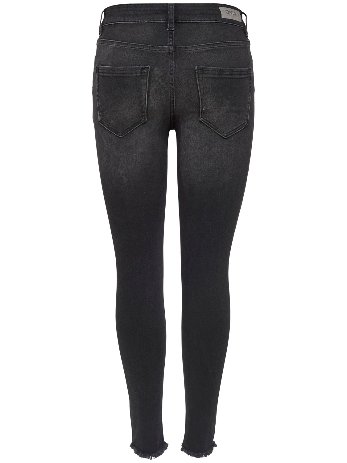 only-damen-jeans-onlblush-mid-ank-raw-jeans-rea1099-slim-fit-schwarz-black-denim, 34.99 EUR @ jeans