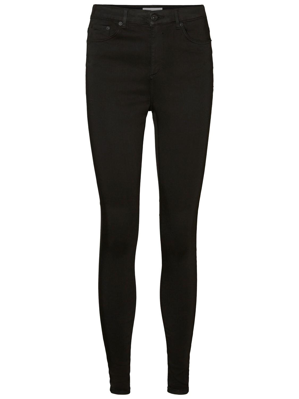 tolle Preise Rabatt bis zu 60% ungleich in der Leistung Vero Moda Damen Jeans VMSOPHIA HR SKINNY JEANS BA037 - Skinny Fit - Schwarz  - Black