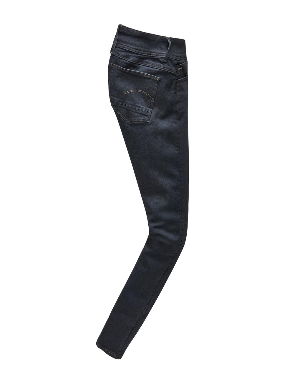 g-star-damen-jeans-lynn-d-mid-super-skinny-fit-blau-rinsed, 39.95 EUR @ jeans