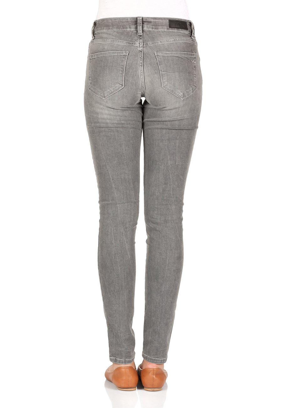 ae99bfdb9c9c LTB Damen Jeans Nicole Skinny Fit - Grau - Speed Grey Wash
