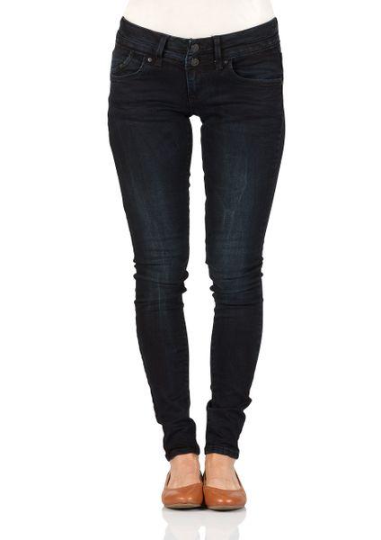 LTB Damen Nicole Erili Wash Super Skinny Jeans Mid Rise