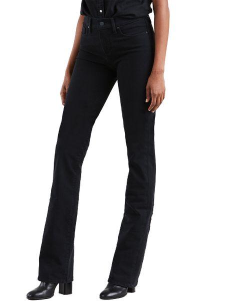 buy popular 210b9 3f698 Details zu Levis® Damen Jeans 315 Shaping Bootcut - Schwarz - 4x Stretch  New Ultra Black
