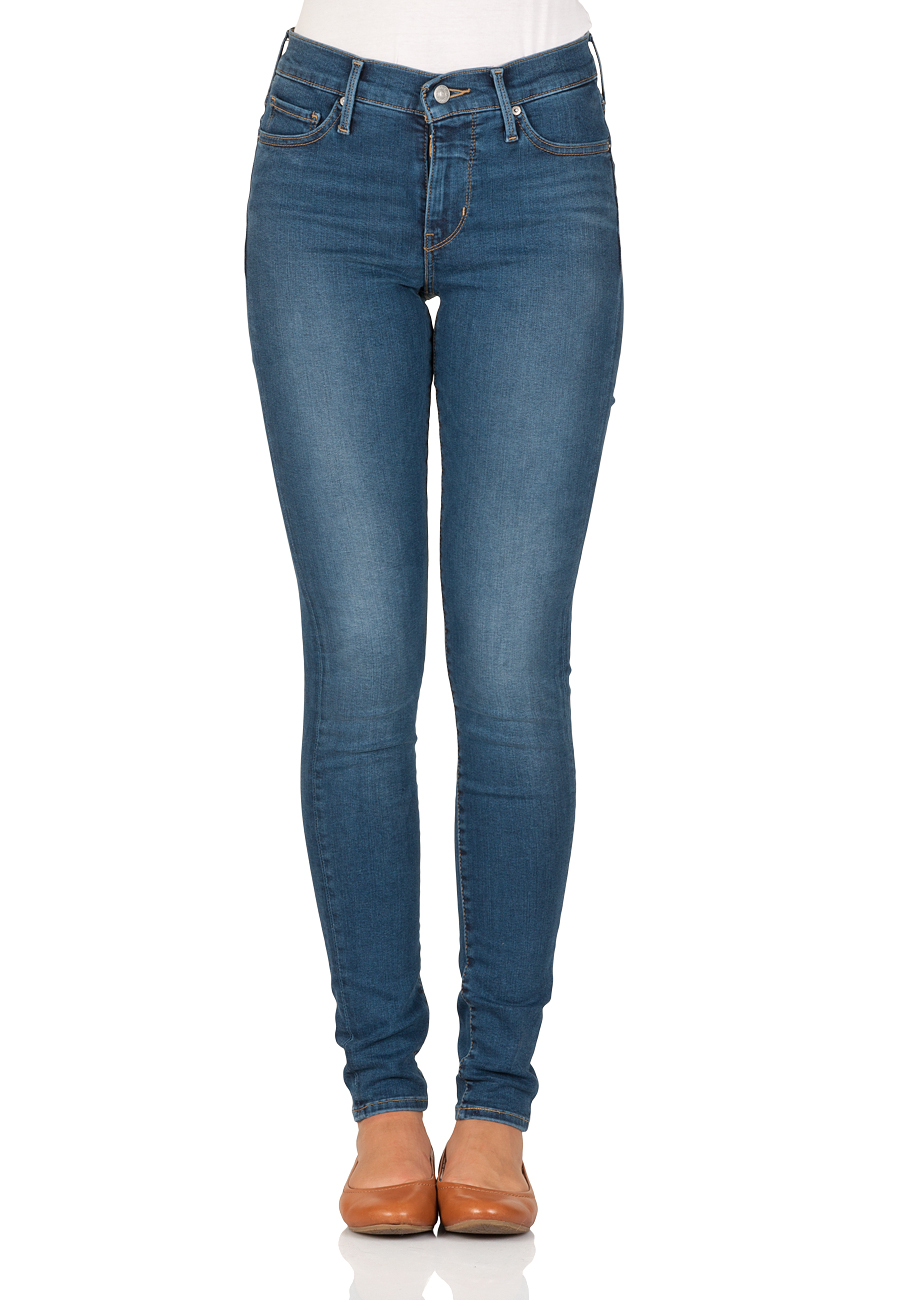 Levis® Damen Jeans 310 Shaping Super Skinny Fit - Blau - Shock Wave ... 938a975f25