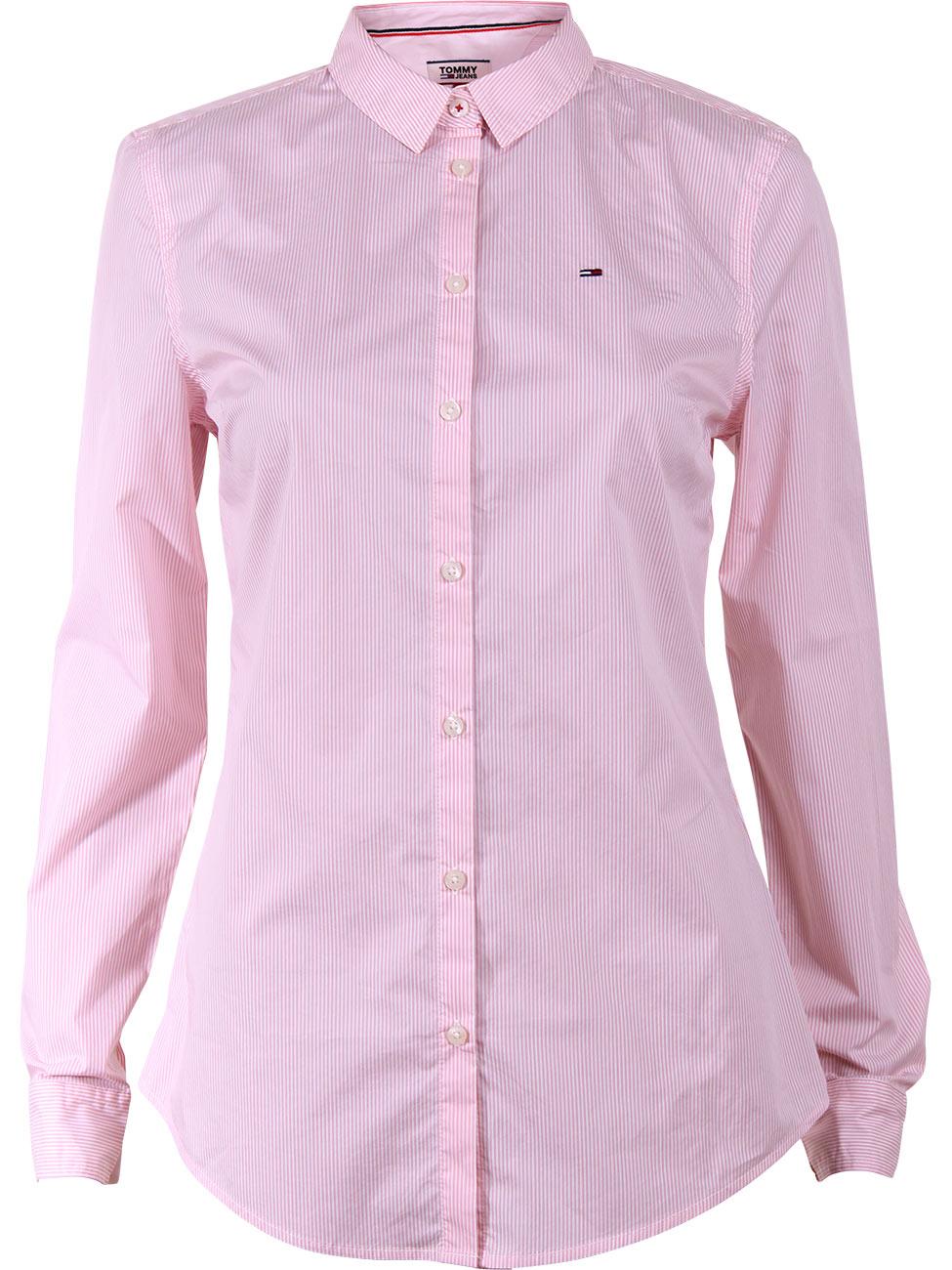 tommy-hilfiger-damen-bluse-tjw-original-stripe-stretch-shirt, 55.93 EUR @ jeans
