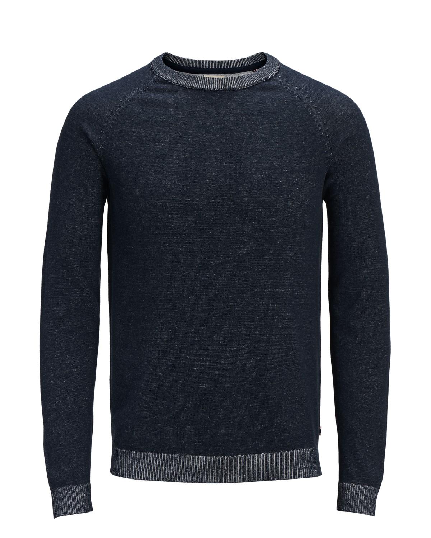 jack-jones-herren-sweater-jjeplaited-knit-crew-neck