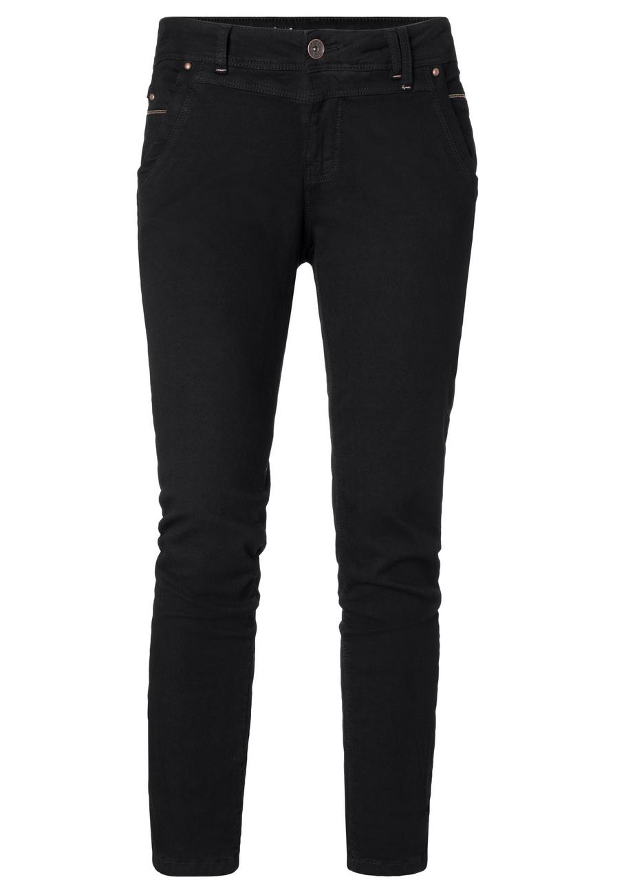 Timezone Damen Jeans NaliTZ Slim Fit Schwarz Caviar Black