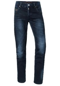 Timezone Herren Jeans Regular RyanTZ Regular Fit Blau Blue Black Wash