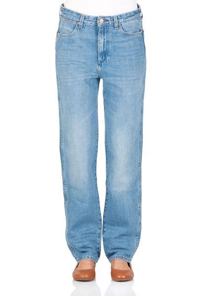 Wrangler Damen Jeans Retro Boyfriend - Blau -  B&Y Hot Shot