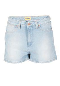 f4ad48c4ca89 Wrangler Damen Jeans Retro Short - Blau - B Y Chill