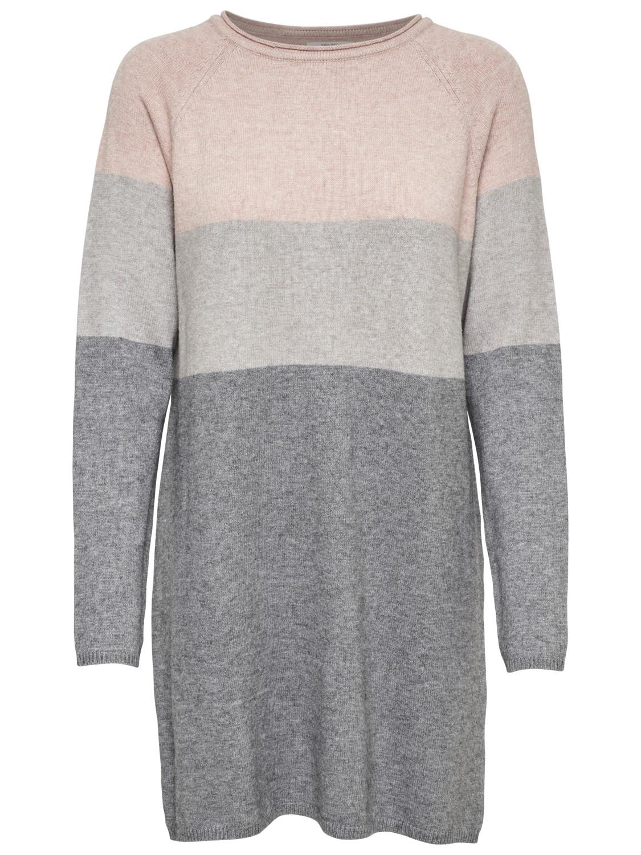 Only Damen Kleid onlLILY L/S DRESS KNT