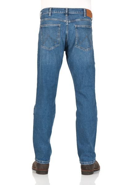 7893c399 Details about Wrangler Men's Jeans Arizona Regular Fit - Blue Burn - cross  Blue