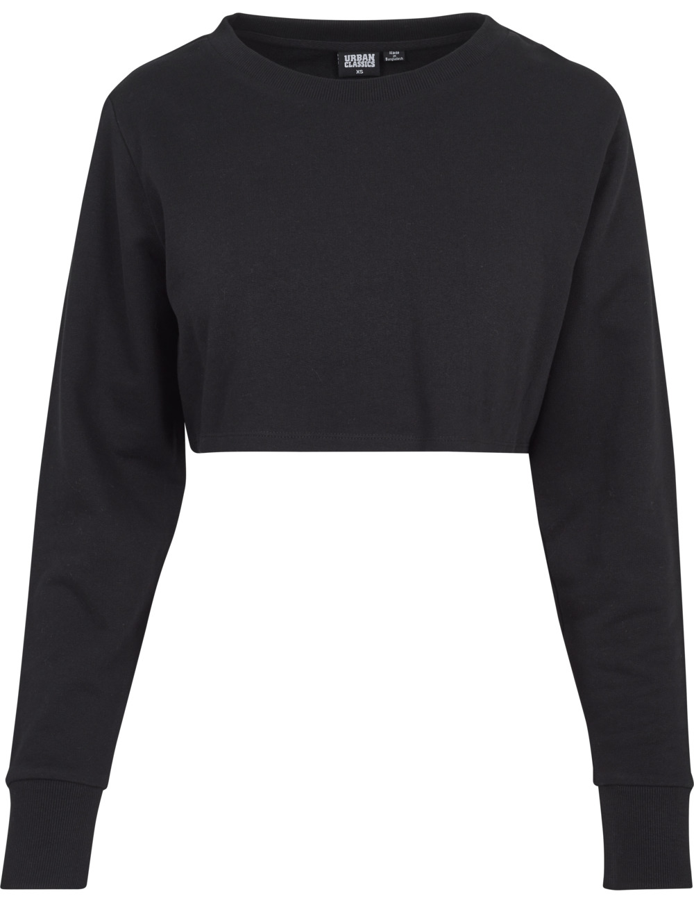 urban-classics-damen-sweater-terry-cropped-crew