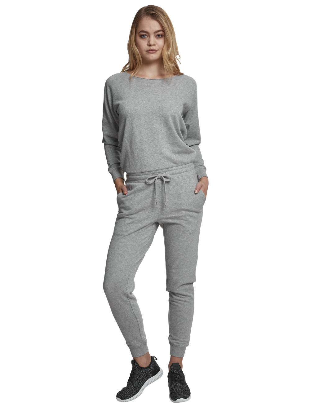 urban-classics-damen-long-sleeve-terry-jumpsuit, 39.90 EUR @ jeans