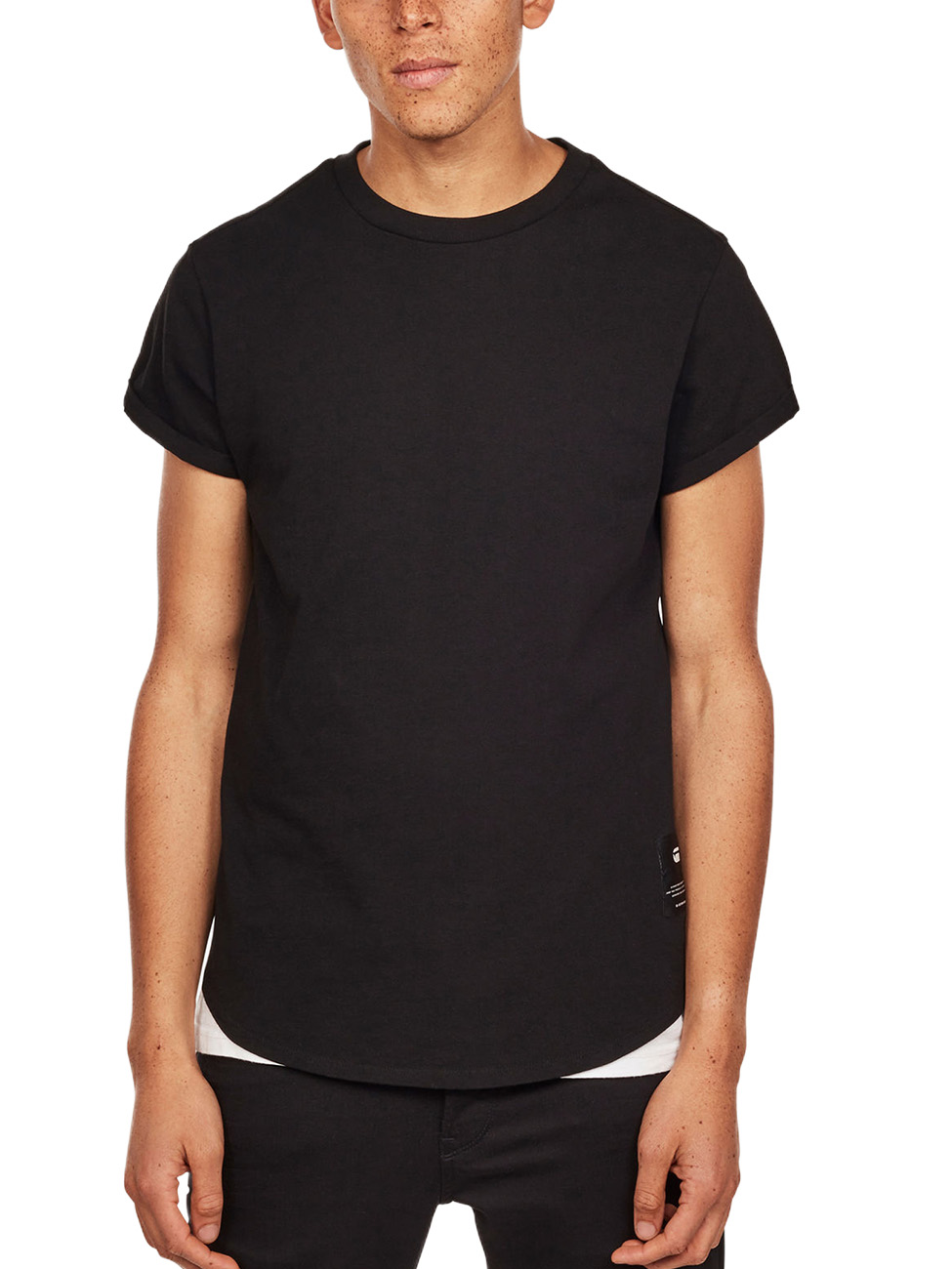 G-Star Herren Crew-Neck T-Shirt Swando New Relaxed  - Straight Fit