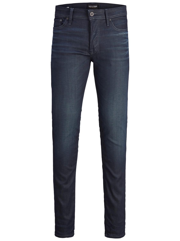 Jack & Jones Herren Jeans JJITIM JJORIGINAL JJ 120   Slim Fit - Blau - Blue Denim