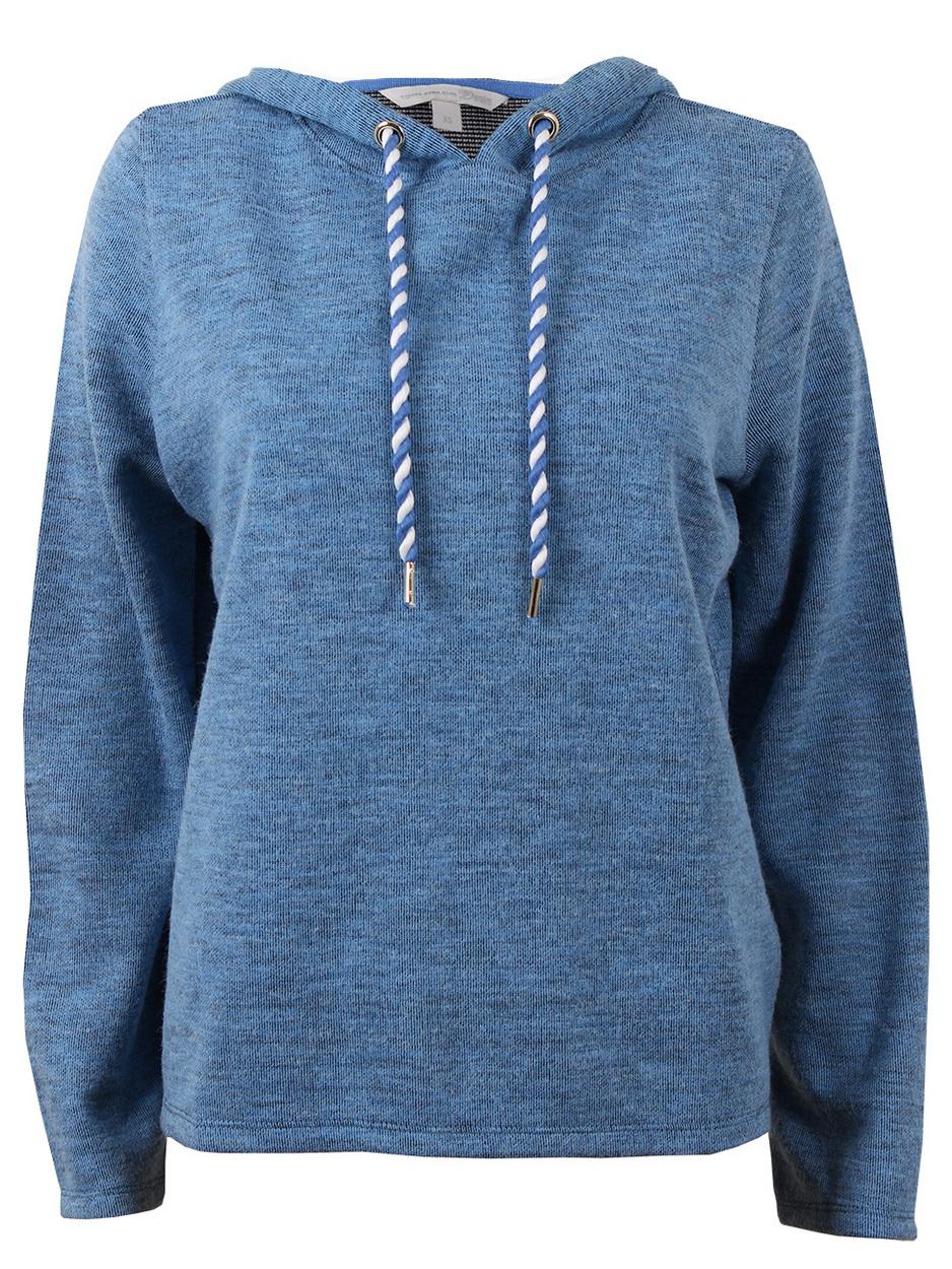 tom tailor denim damen sweatshirt mit kapuze kaufen. Black Bedroom Furniture Sets. Home Design Ideas