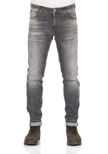 Mavi Herren Jeans James - Skinny Fit - Grau - Dark Grey Ultra Move