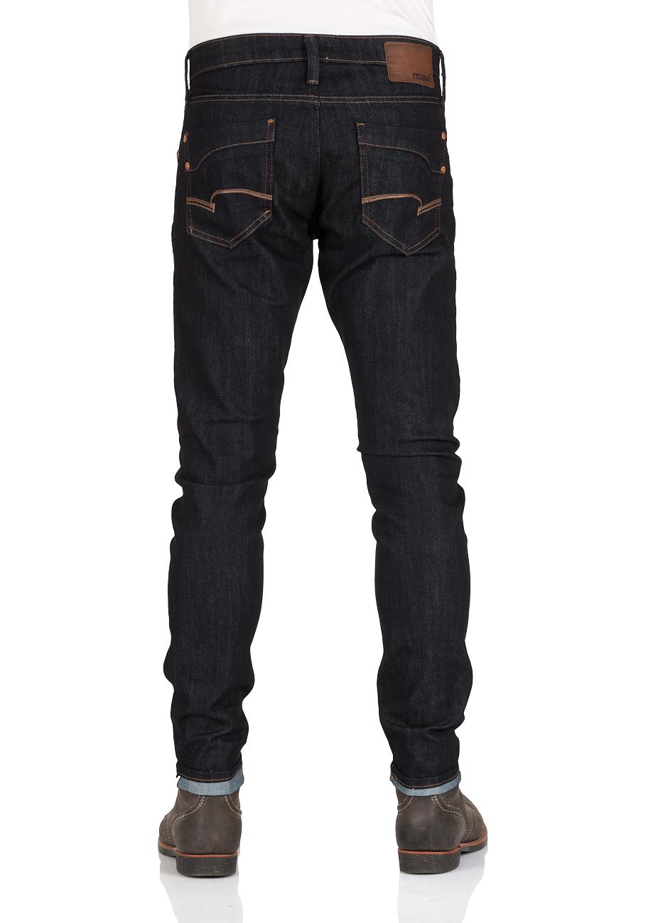 mavi-herren-jeans-james-skinny-fit-blau-rinse-comfort, 69.95 EUR @ jeans