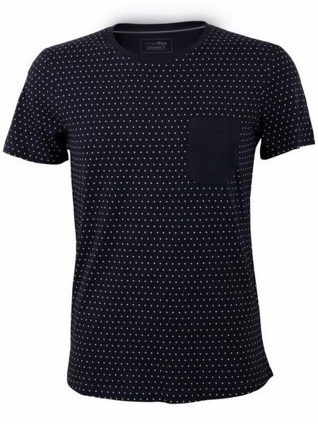 Tom Tailor Denim Herren T-Shirt Dot Print