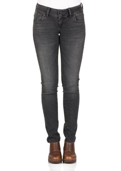 LTB Damen Jeans Molly Slim Fit - Grau - Enna Wash