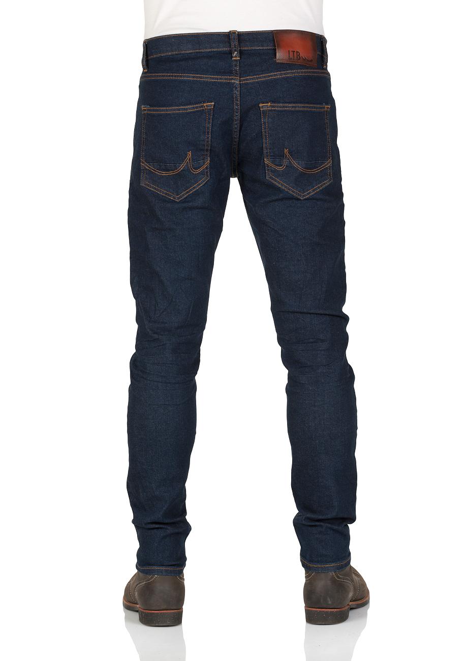 LTB Herren Jeans Smarty - Super Skinny Fit - Blau - Andrew Wash