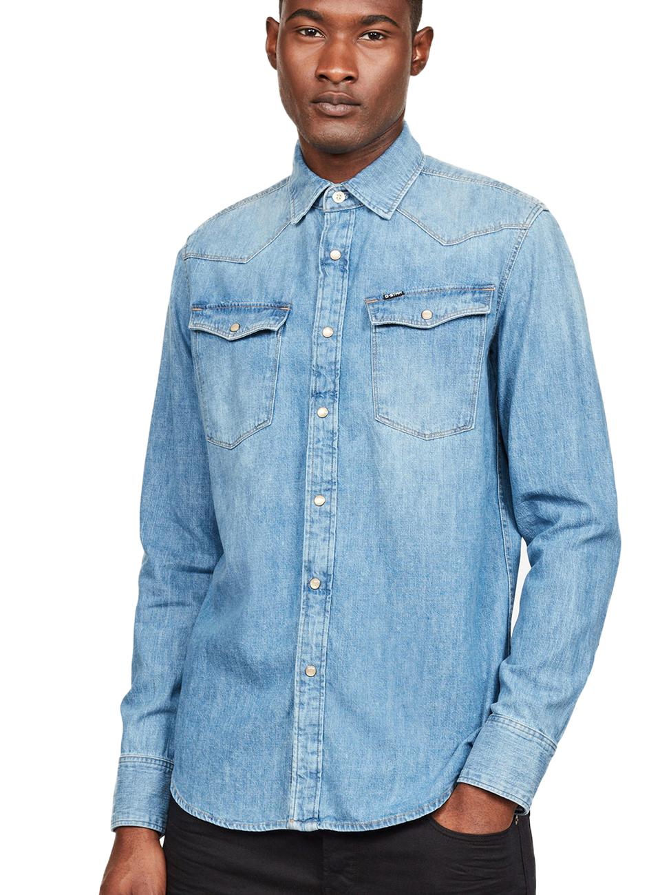 G-Star Herren Jeanshemd 3301 - Slim Fit kaufen - JEANS-DIRECT.DE 63f5085aa0