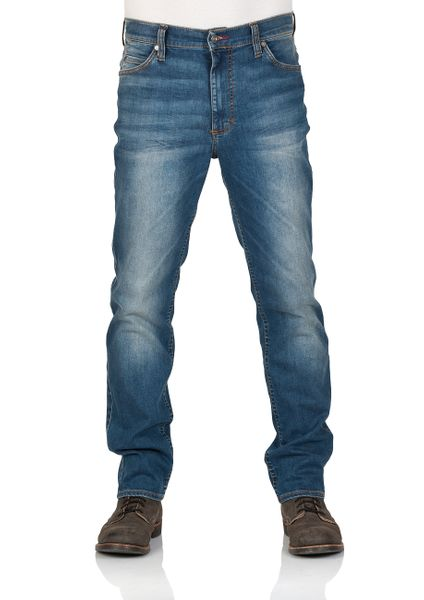 Mustang Herren Jeans Tramper - Tapered Fit - Blau - Denim Blue