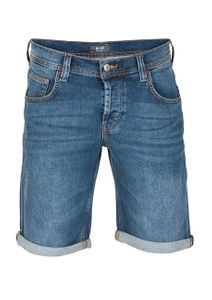 fc5c95a7ecef40 Mustang Herren Jeans Short Chicago - Blau - Denim Blue