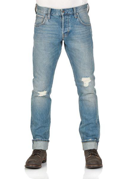 Mustang Herren Jeans Chicago - Tapered Fit - Blau -  Denim Blue