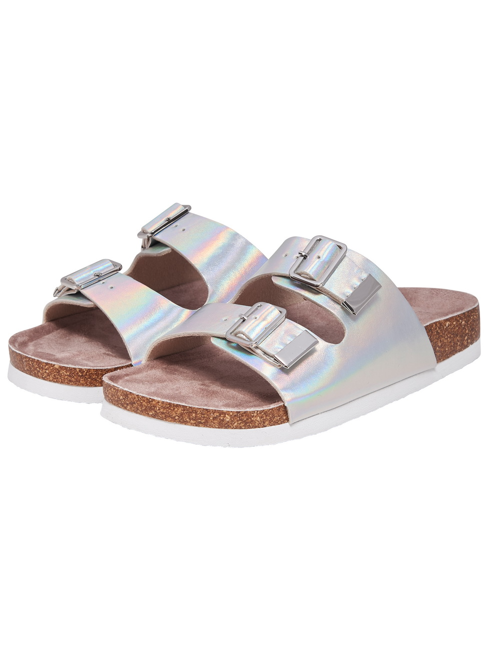 only-damen-slipper-onlmathilda-metallic-slip-on