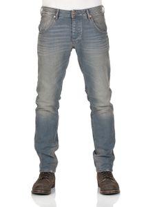 Mustang Herren Jeans Michigan - Tapered Fit - Blau -  Denim Blue