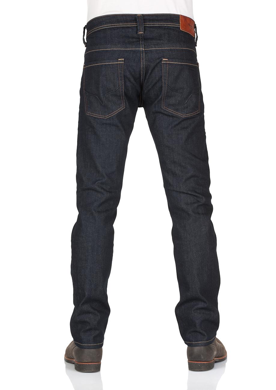 pepe-jeans-herren-jeans-cash-regular-fit-blau-rinse-denim, 82.50 EUR @ jeans