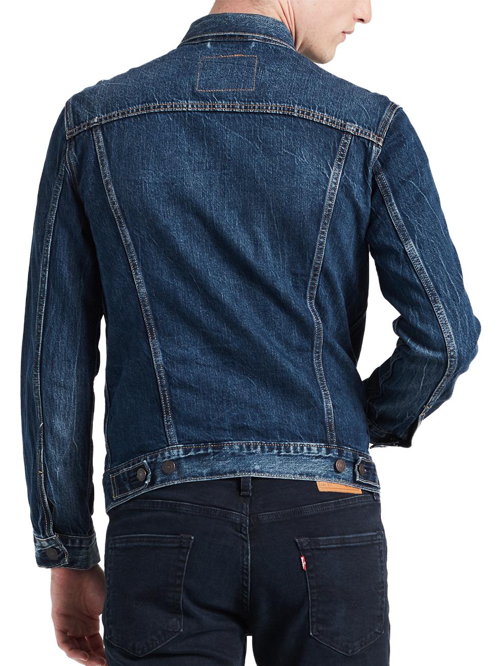 Levis® Herren Jeansjacke The Trucker Jacket Regular Fit