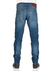 8a2f5db2607677 G-Star Herren Jeans 3301 Tapered Fit - Blau - Medium Indigo Aged ...