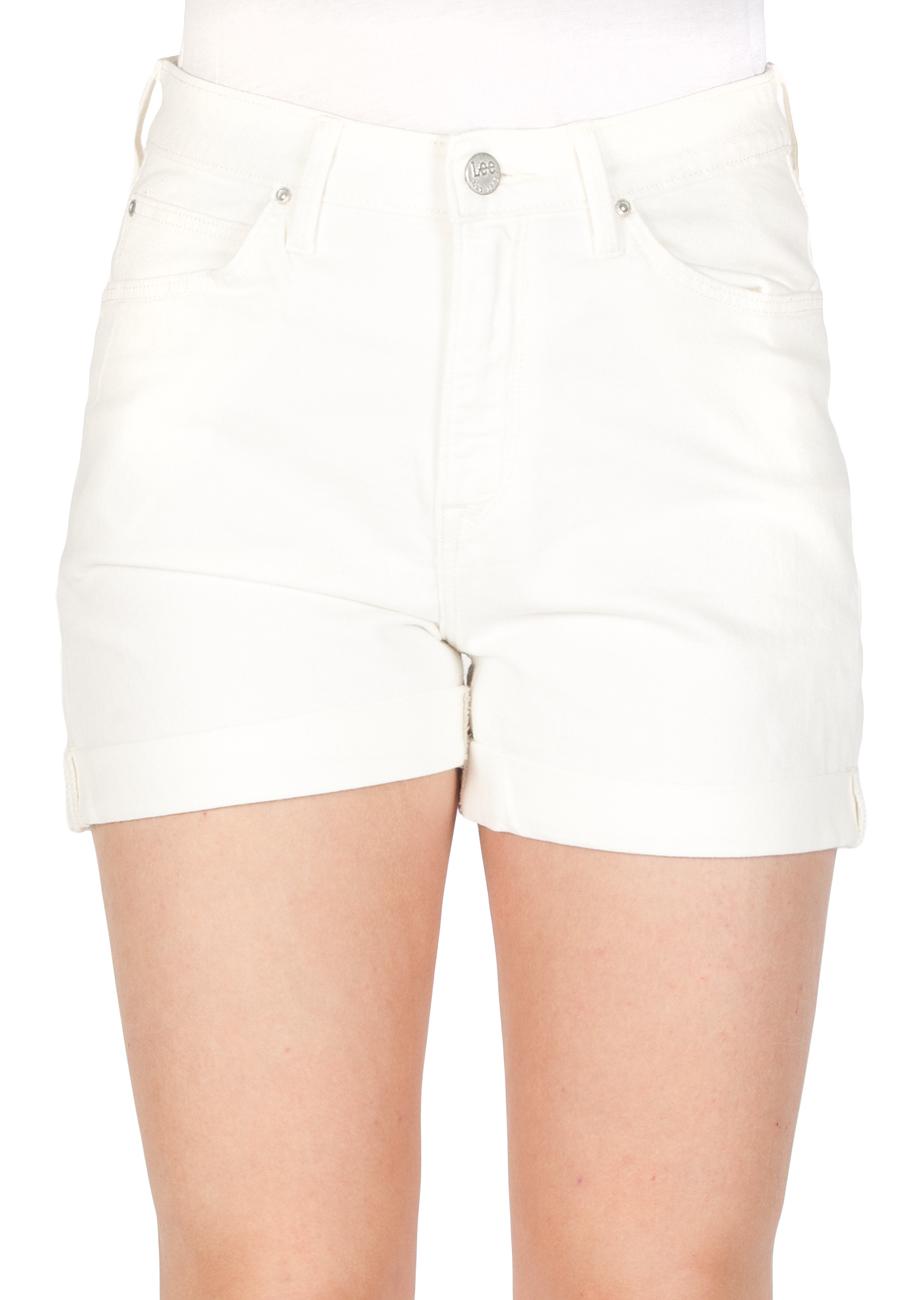 ae627e760f34fa Lee Damen Jeans Short Mom - Relaxed Fit - Weiß - Ecru kaufen - JEANS ...