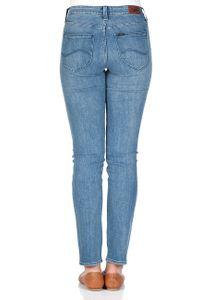 Lee Damen Jeans Elly Slim Fit Realworn Custom Blau