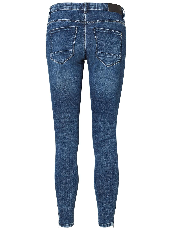 noisy-may-damen-jeans-nmkimmy-nw-ankle-zip-jeans-az003mb-slim-fit-blau-medium-blue, 39.99 EUR @ jeans