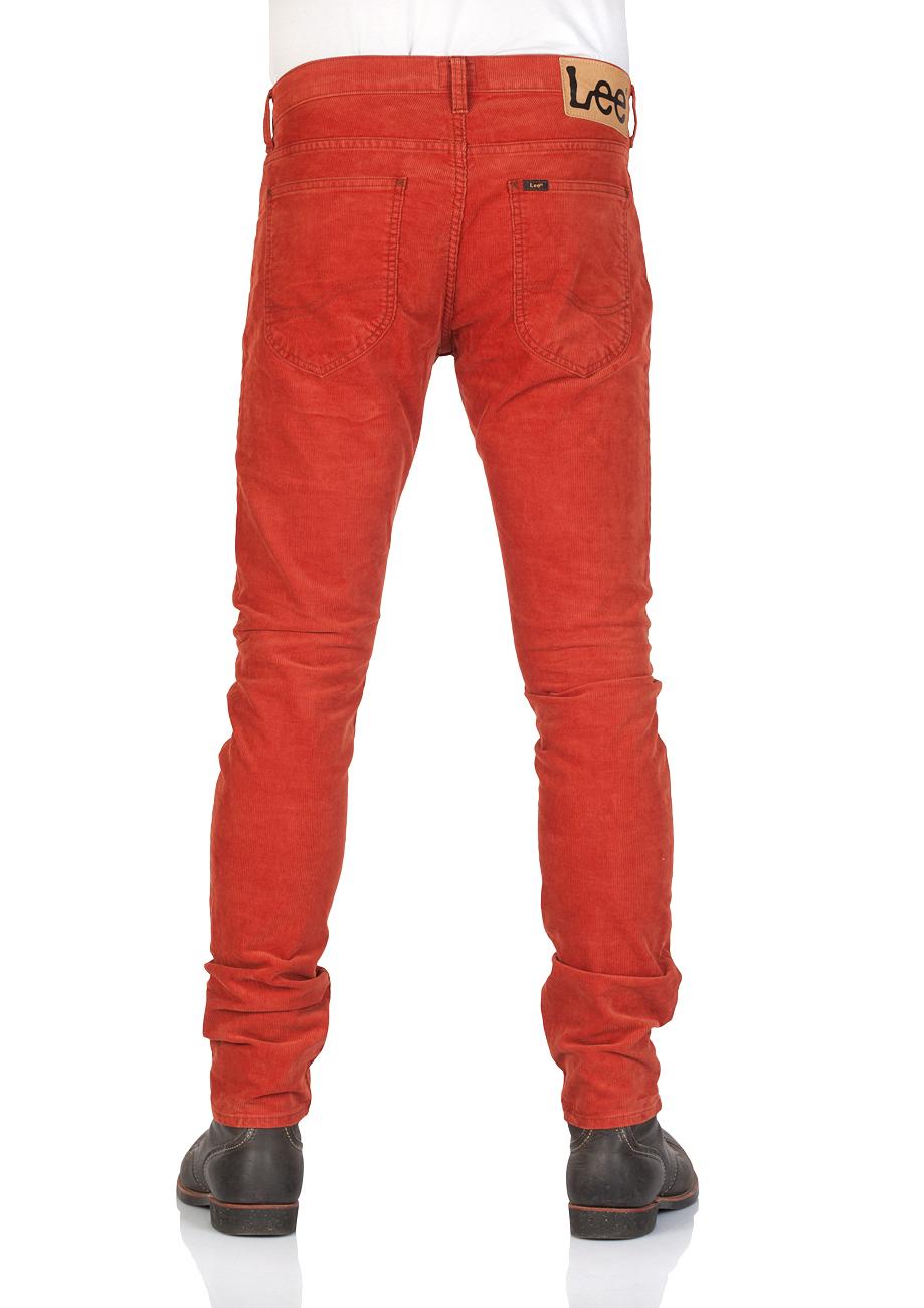 lee-herren-cordhose-luke-slim-tapered-fit-orange-picante, 39.95 EUR @ jeans