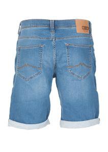 ab0df9e16033b2 Mustang Herren Jeans Sweat Short Chicago kurze Stretch Hose Real X Regular  Fit - Blau -