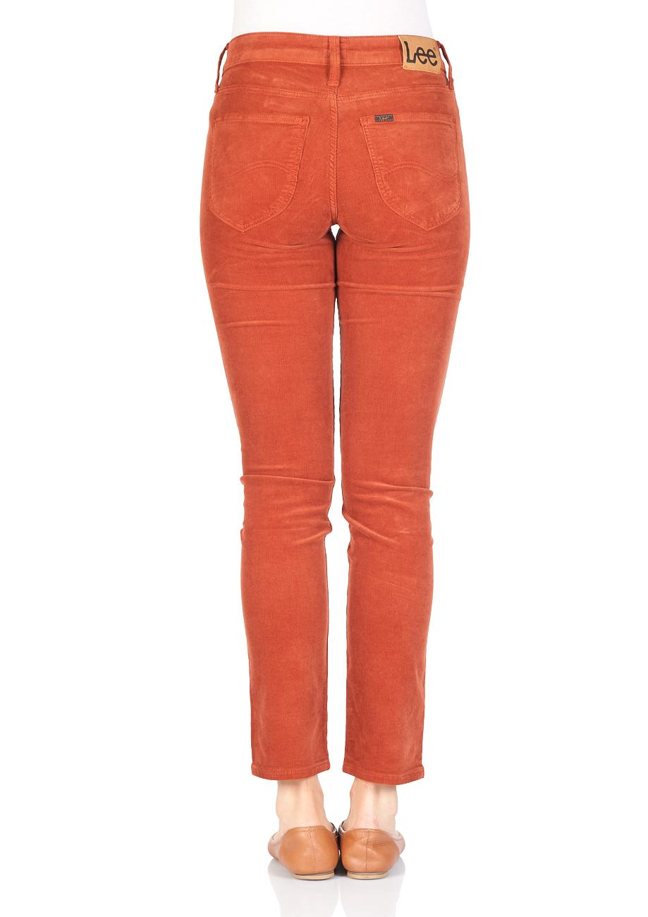 lee-damen-jeans-elly-slim-fit-orange-picante